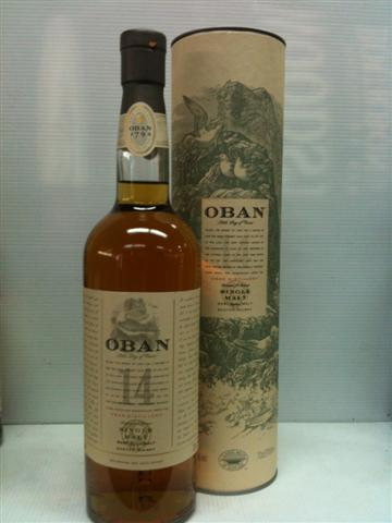 Oban Single Malt Scotch Whisky 700ml